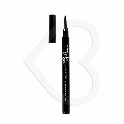 Royal Lashed Out  Black Felt Tip Liquid Eyeliner Thick