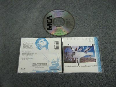 Elton John Live in Australia with the melbourne symphony orchestra CD Disc