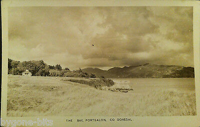 THE BAY PORTSALON CO DONEGAL POSTCARD 1930's IRELAND KENNELLY PHOTOWORKS TRALEE