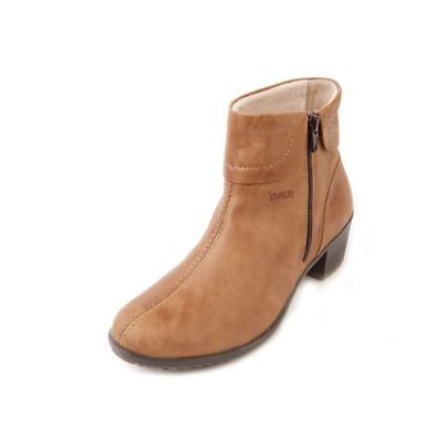 Suave Women's Leather Boot 'Alicia' | Wide E Fit | 4cm Heel | Size 3-8