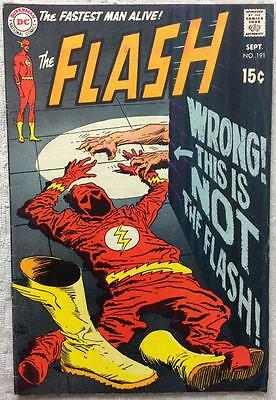 Flash #191 (DC 1969 1st series) 47 years old. FN Silver Age.