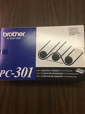Brother Fax Cartridge PC-301 Brand New in Box