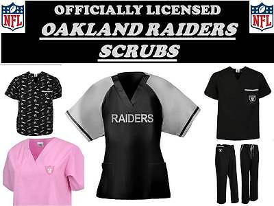 a3d712060c2 Oakland Raiders Scrub Top-Oakland Raiders Scrub Pants-Oakland Raiders Nfl  Scrubs
