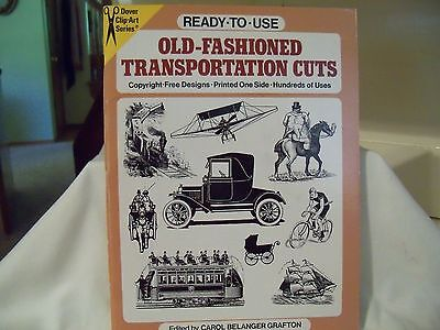 Clip Art Book of Vintage Items, 1987, Dover Publishing Co