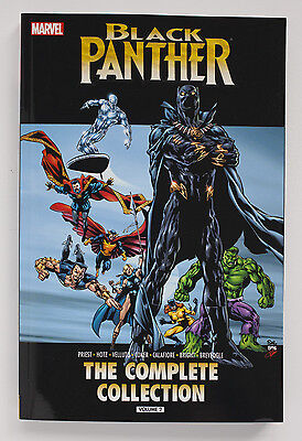 Black Panther The Complete Collection Vol. 2 Marvel Graphic Novel Comic Book