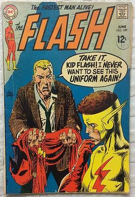 Flash #189 (DC 1969 1st series) 47 years old. VG+ condition. Silver Age.