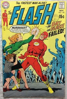 Flash #192 (DC 1969 1st series) 47 years old. FN+ Silver Age.