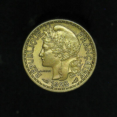 1925 Cameroon 50 Centimes KM#1 AU+ / Uncirculated