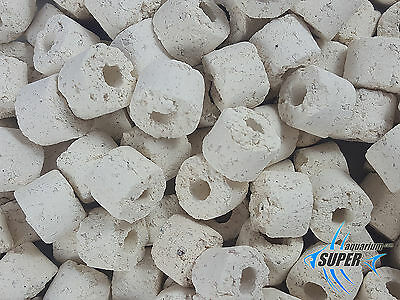 SUPER AQUARIUM BIO CERAMIC RINGS 15mm BIOLOGICAL FILTER MEDIA AQUARIUM FISH TANK
