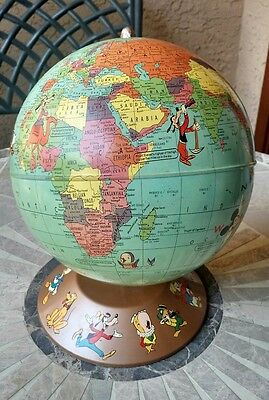 Vintage RARE 1950's Rand McNally Walt Disney World Globe Collector's Item -offer