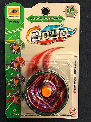 PROFESSIONAL YOYO Ball Aluminum Clutch Trick Alloy Bearing Reel Kids Adult Toys