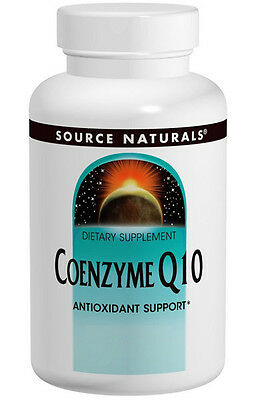 Source Naturals Coenzyme Q10 100 mg 60 Softgels, CoQ10, Antioxidant Support