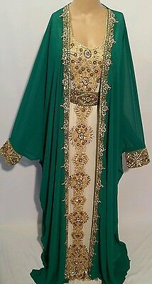 2 pcs wedding  farashas.khaliji farasha.dress.moroccan/indian kaftan.abaya .2017