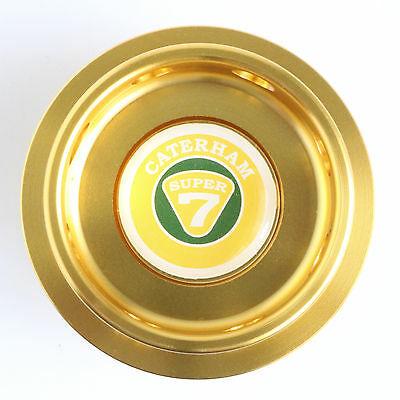 Caterham Super 7 K Series Oil Filler Cap Gold Anodised Billet Aluminium K16 VVC
