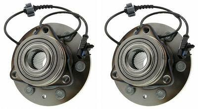 Pair Front Wheel Hub Bearing Assembly for 2009 2010 Chevrolet Tahoe 4WD/AWD ONLY