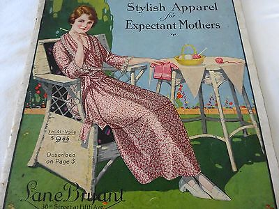 1920 Lane Bryant Catalog Stylish Apparel for Expectant Mothers Spring/Summer