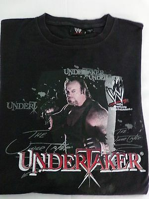 Wwe Undertaker Collectors T/shirt  Great Pre Owned Condition Size Large