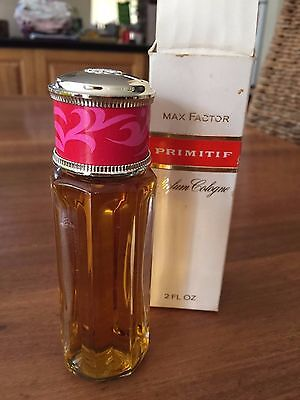 """""""Primitif"""" Max Factor vintage unopened perfume cologne with opened box"""