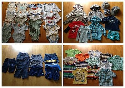 boys 3-6 months bulk clothing 50 items