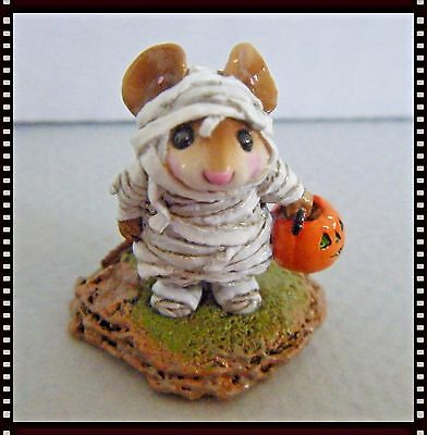 Wee Forest Folk The Mummy - (NEW in bag) M-194 - white