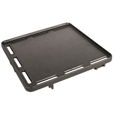 Coleman 2000012522 Black Cast Iron Durable Portable NXT Grill Half Griddle