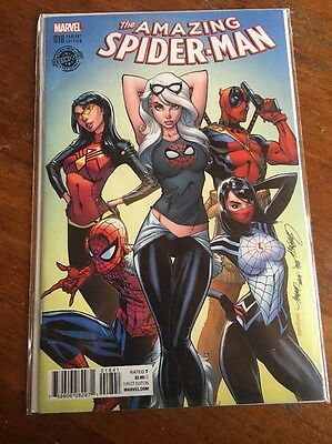 The Amazing Spider-Man 18 Decomixado Variant Campbell HTF VF Read Description