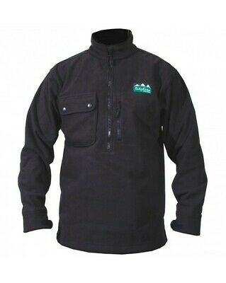 Ridgeline Igloo Fleece Hunting Top Black