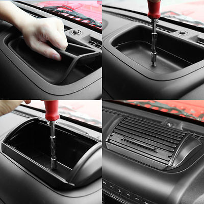 Console Roll Top Storage Box Case Holder For Jeep Wrangler& Unlimited JK 2011 UP