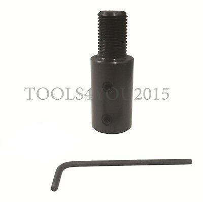 """Motor Adapter Arbor With 1/2"""" x 20 tpi : 1/2"""" Bore"""