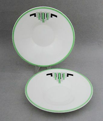 SHELLEY Saucers Art Deco Vintage Porcelain China W8159? Bone China Replacements