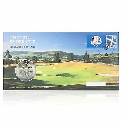The 2014 Ryder Cup Royal Mail Postal Commemorative H660