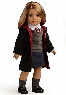 """Magic Outfits Witchcraft School Uniform Doll Clothes For 18"""" American Girl Doll"""