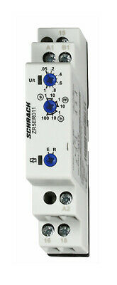 Timer dual function ON/OFF-delay 24-240V AC/DC, 1CO, 8A/250V - ZR5ER011