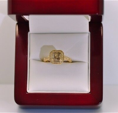 14ct Gold Diamond Engagement Ring 1.35ct