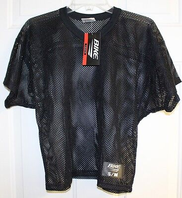 Bike Athletic Mesh Scrimmage Practice Jersey Youth S/M L/XL Black New B1522T