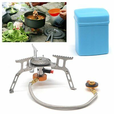 Gas Stove Folding Portable Mini Gas-Burner Fishing Outdoor Cooking Camping Cook