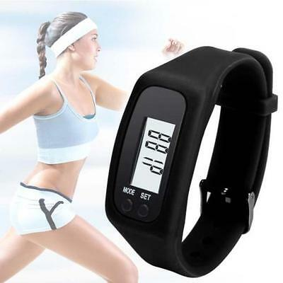 Walking Jogging Running Distance Watch Pedometer With Calorie counter LCD Screen