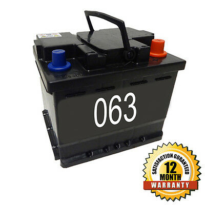 Cosmetic 063 Car Battery 45ah 12 Month Warranty Vauxhall Astra Batteries
