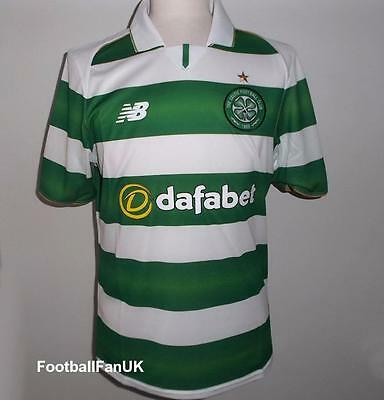 CELTIC FC Official NB Home Football Shirt 2016-2017 NEW Jersey Top Men's Small S