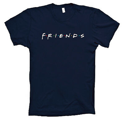 Friends T-shirt inspired 90s tv show sitcom new sizes for men and women tee
