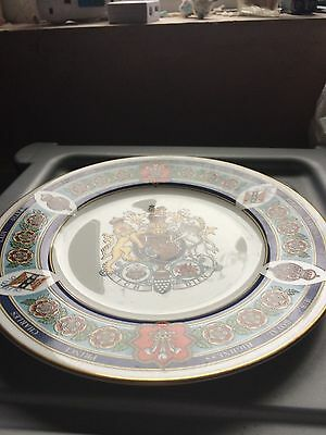 Royal Worcester Limited Edition Comerative Plate for charles and Diana royal wed