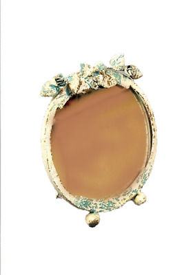 Shabby chic style Freestanding Metal ornate Rustic Mirror