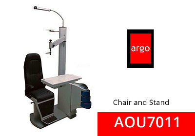 OPHTHALMIC Chair And Stand ARGO AOU 7011 110V  (4 Boxes ), Chair & Stand