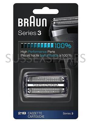 Braun 21B Series 3 Shaver Replacement Foil and Cutter Cassette Cartridge 300S