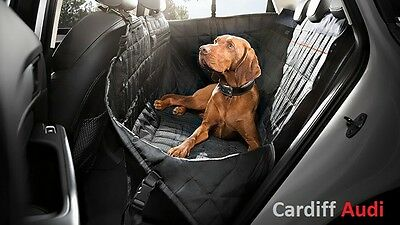 Genuine Audi Rear Seat Protection Cover For Dog Transportation - 8X0061680A