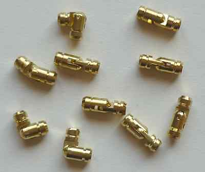 Solid Brass & Nickel Plated Pin Hinges, Ideal for Pen & Pencil Boxes