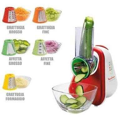 Moulinex Tritatutto Fresh Express+ Dj755G Multifunzione 150W Con 5 Accessori