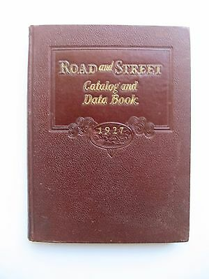 Road and Street Catalog and Data Book 1927