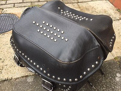 Harley Davidson Genuine Leather saddlebag softail heritage fatboy nightrain