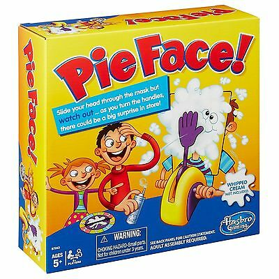 Official Pie Face Game Fun Filled Family Game of Suspense By Hasbro New